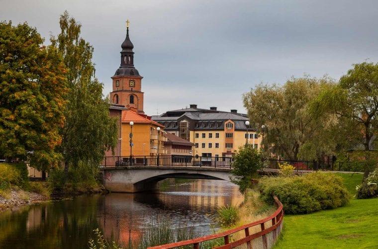 Bild från Falun