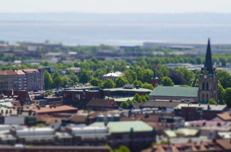 En sommar bild från Halmstad