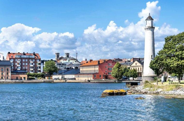 Borohus bild på Karlskrona