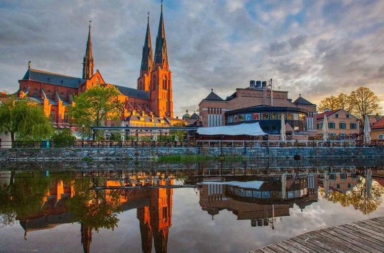 Borohus bild på Uppsala