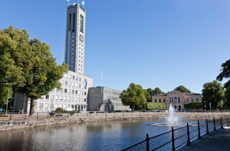 Borohus bild på Västerås