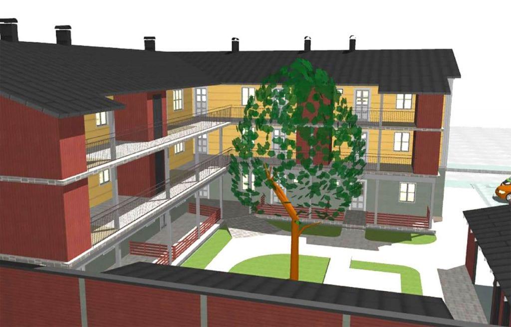 Brf Svanen Ludvika Ludvika kommun 2