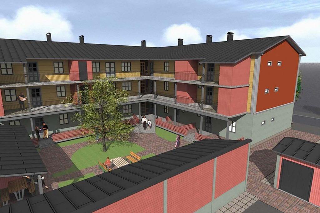 Brf Svanen Ludvika Ludvika kommun 3
