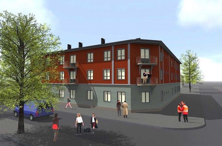 Brf Svanen Ludvika Ludvika kommun 4