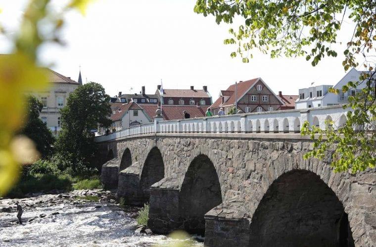 Bild på tullbron i Falkenberg