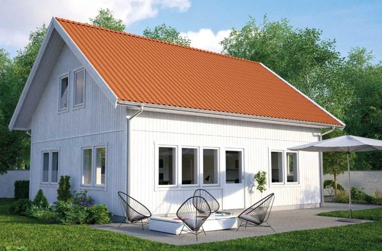 Bild på Borohus fritidshus tredje Klinten med förhöjt väggliv