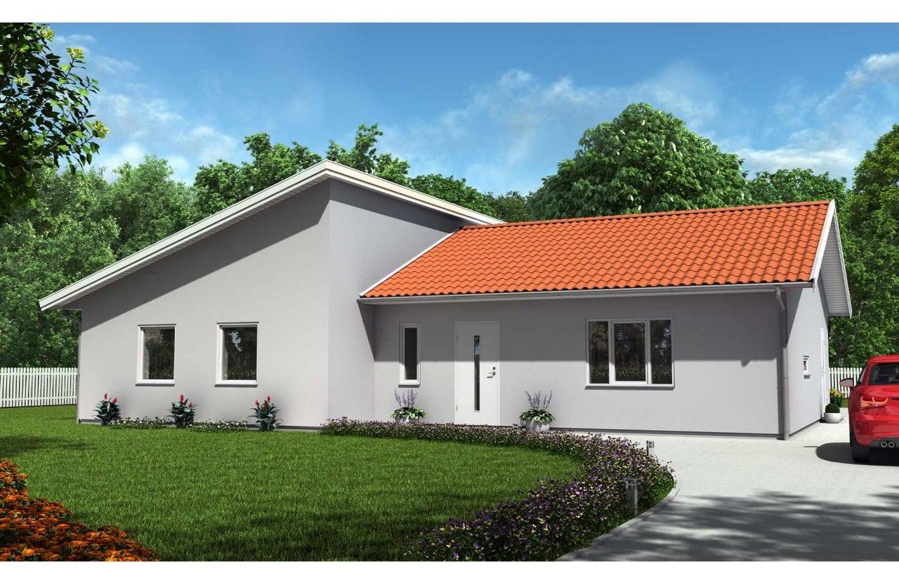 Bild på Borohus Villa Karisma 19 annan taklösning