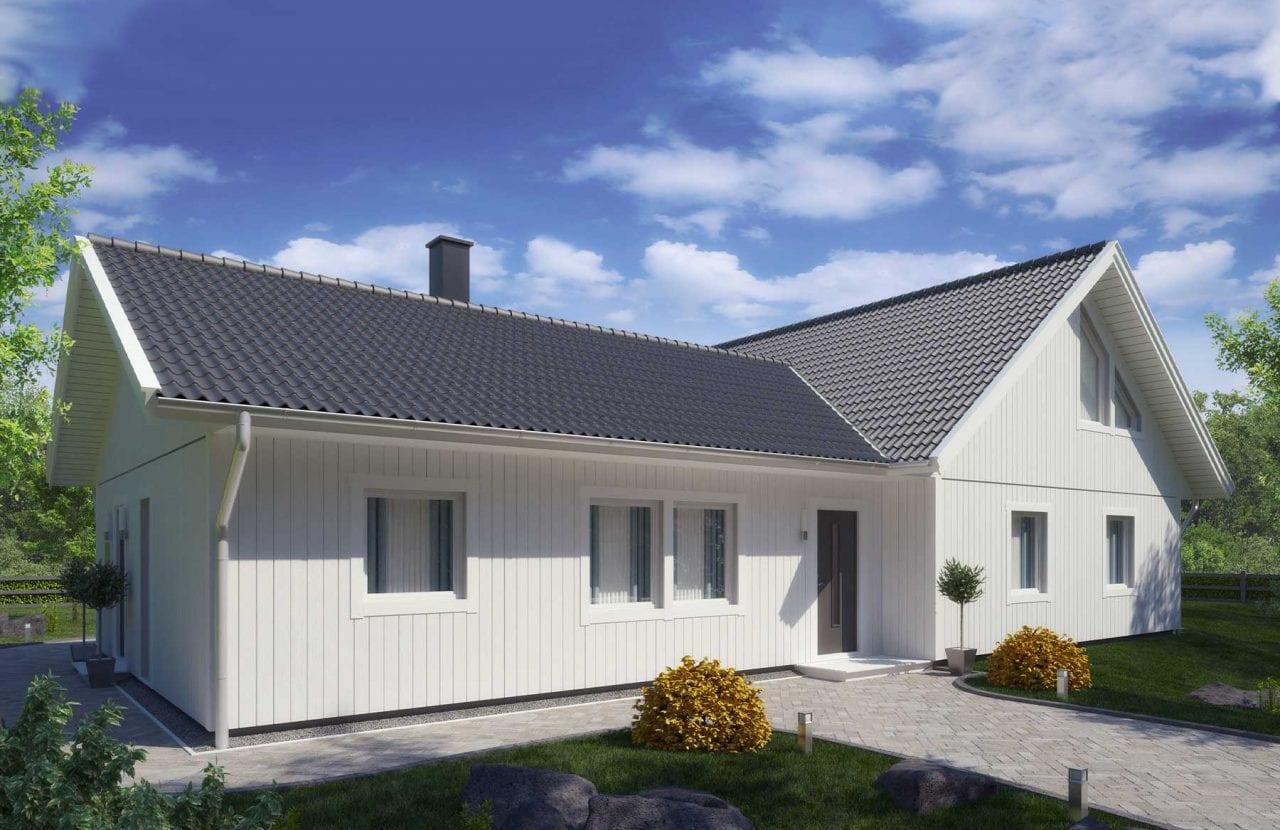 Bild på Borohus Villa Scandinavia 9 grått tak