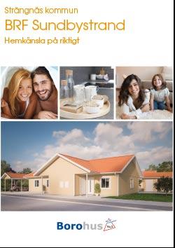 Brf Sundbystrand Stallarholmen broschyr