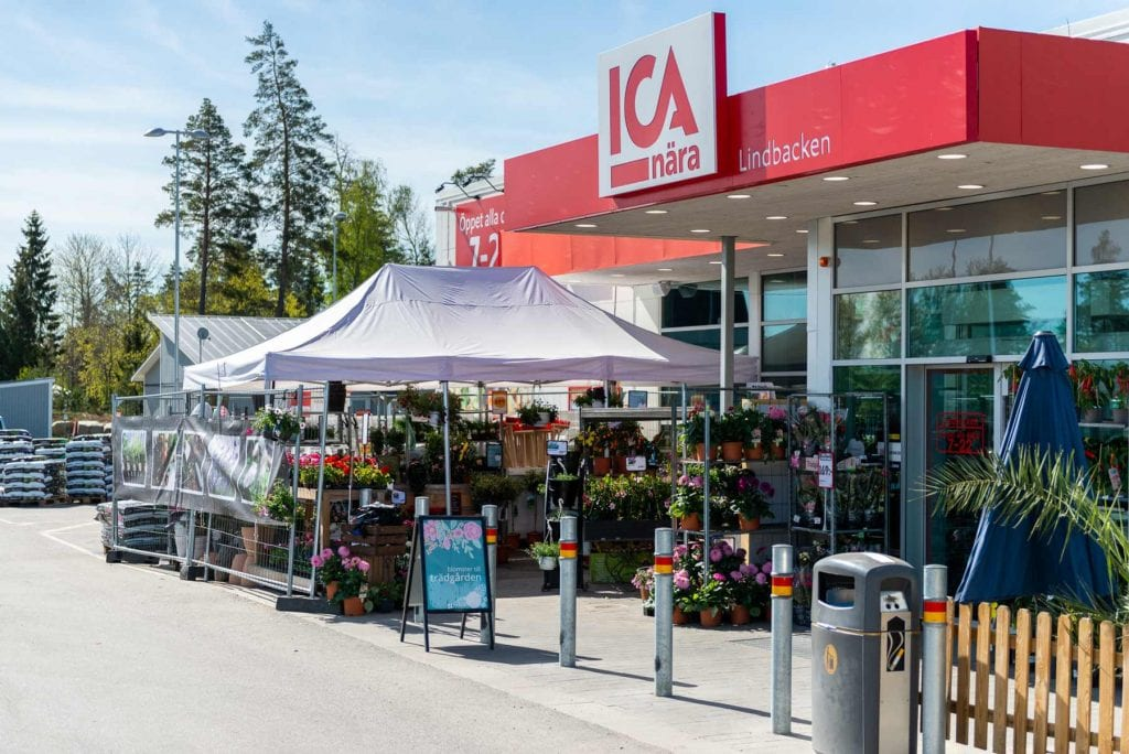Bild på Icaaffären i Lindbacken
