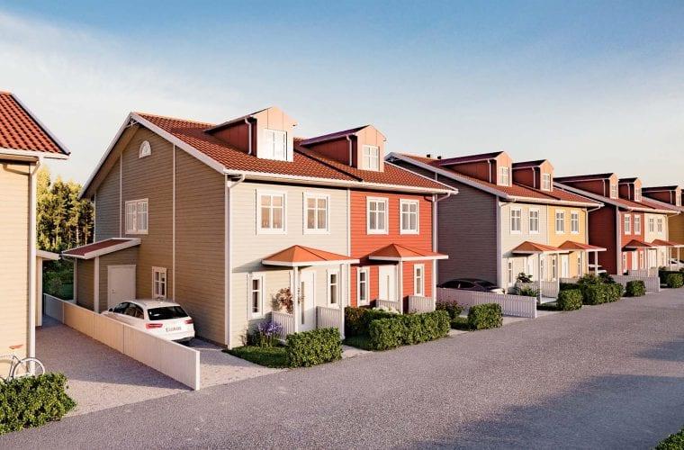Parhus i Steninge Slottsby