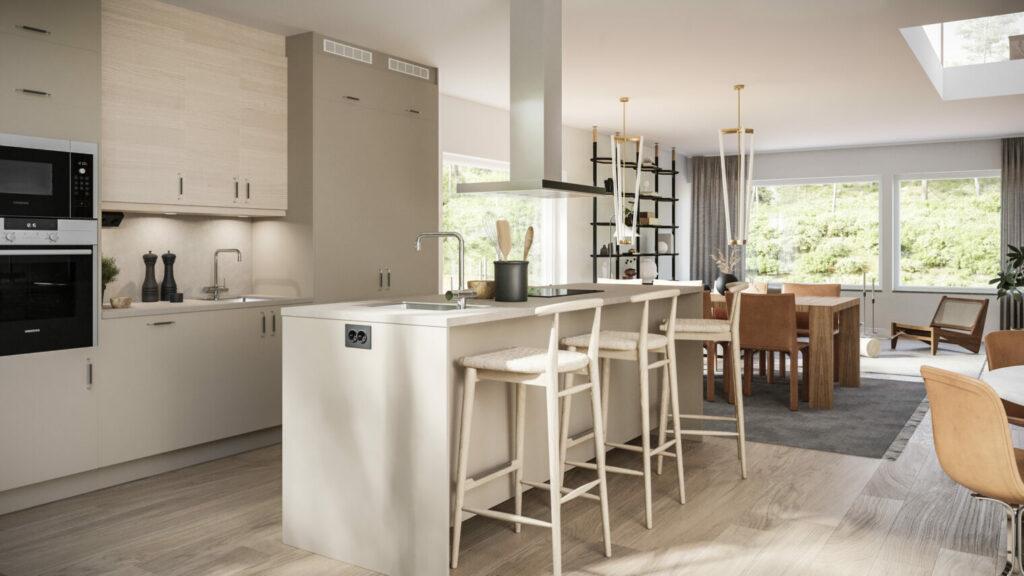 Skuruparken bostadsrätt kök